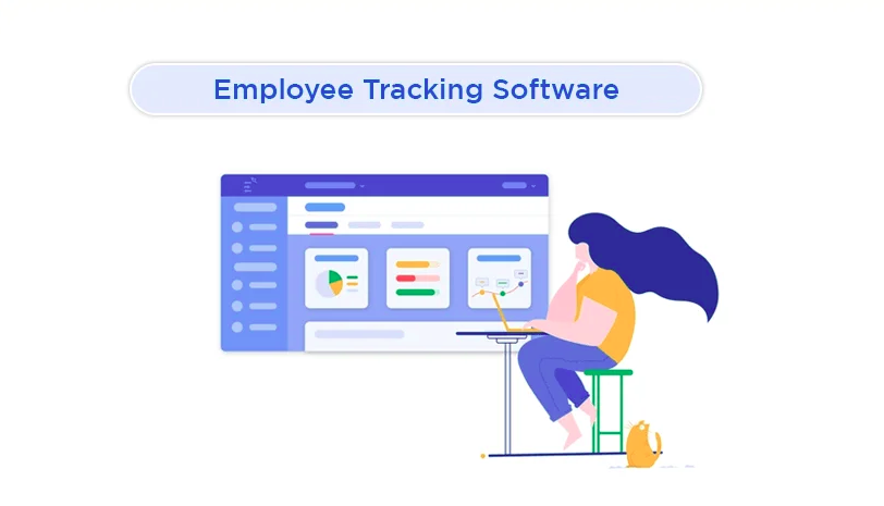 Employee tracking software